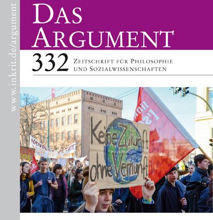 Das Argument 332 - forside